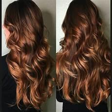 couleur caramel cheveux brun quel balayage pour quelle couleur de base de cheveux