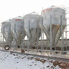 china galvanized fiberglass poultry pig farming feed silo filling system manufacturers and