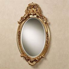 hallandale acanthus leaf oval wall mirror