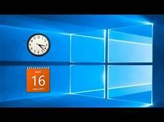 comment avoir windows 10 gratuit comment avoir l horloge et les gadgets sur le bureaux de