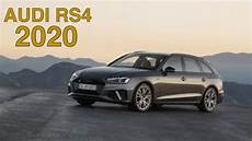 Audi Sport Car Rs4 A4 Avant 2020 Tech Features
