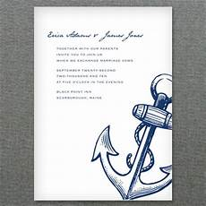 nautical anchor printable invitation template