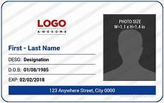 how to make id card template in word 5 best office id card templates ms word microsoft word