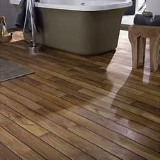 un parquet pour salle de bain pont de bateau leroy merlin