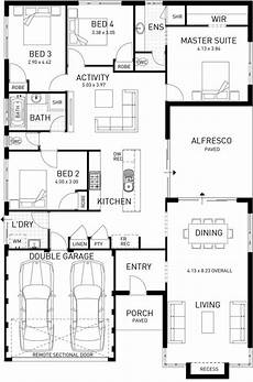 single storey house plans australia semillon single storey foundation floor plan western