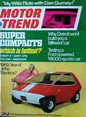 The AMC Amitron Electric Car On Cover Of Motor Trend