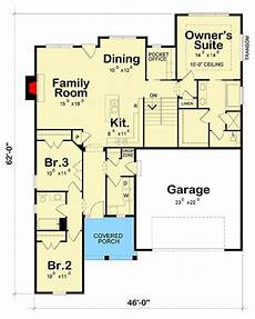 atrium ranch house plans atrium ranch house plan with pocket office 42508db