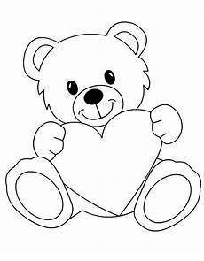 Malvorlagen Teddy Mit Herz B 228 R Mit Herz Zum Ausmalen Tuttodisegni Baby Zimmer