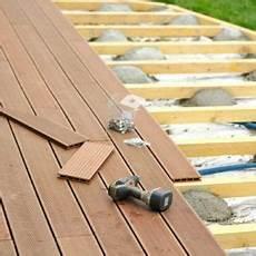 comment installer une terrasse en bois avec images