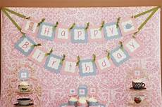 worksheets for 18166 happy birthday banner tea ideas and decorations 5m creations tea happy