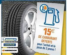 Centre Auto Leclerc Pneus 15 Carburant Offert