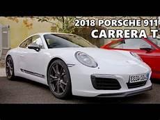 porsche 911 t 2018 porsche 911 t test drive