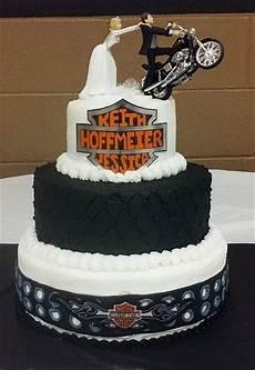 Harley Davidson Wedding Theme by 3 Tiered Harley Davidson Wedding Cake All Buttercream