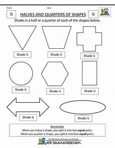 fraction worksheets half 3953 partitioning shapes into equal parts worksheet search shapes worksheets fractions