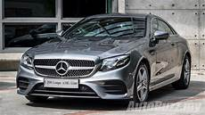 the new mercedes e class coupe now in malaysia start