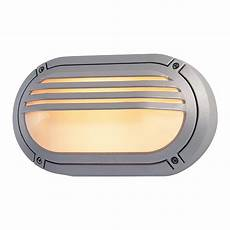 firstlight verona single light outdoor oval wall fitting in silver finish with opal diffuser