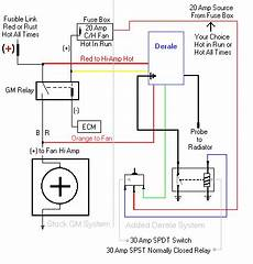 30a relay fan wiring diagram wiring diagram