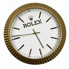 lot detail vintage 1980s rolex dealer display clock