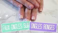 tuto faux ongles sur ongles rong 233 s en acrylique