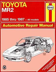 car repair manuals online pdf 2000 toyota mr2 windshield wipe control toyota mr2 repair service manual by haynes 1985 1987