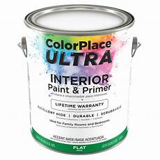 color place ultra flat interior paint primer accent base 1 gal walmart com