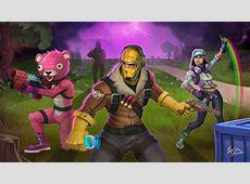 Download 2048x1152 wallpaper fortnite, squad, art, dual