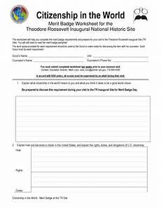 fillable online nps citizenship in the world worksheet