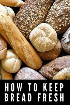 brot frisch halten how to keep bread fresh