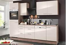 Küche Mit E Geräten Günstig - optifit k 252 chenzeile mit e ger 228 ten 187 breite 270 cm
