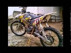 Modifikasi Motor Bebek Honda by Modifikasi Motor Trail Model Motor Bebek Honda Supra Fit