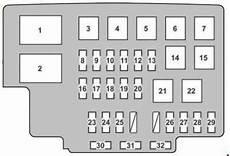 Lexus Rx 330 2004 2006 Fuse Box Diagram Auto Genius