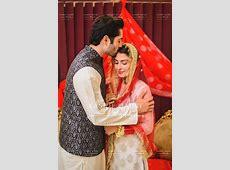 Ayeza khan n Danish   Ayeza khan wedding, Nikah dress