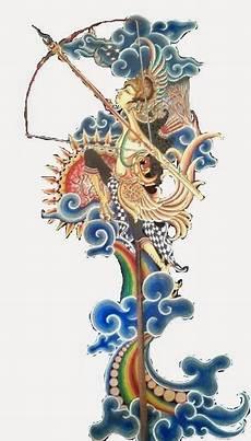 Gambar Gambar Wayang Unik Lukisan Seni Lukisan Kaca