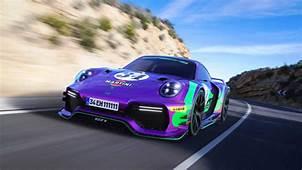 Porsche 911 GT1 Rendered Imagining 918s Track Ready Successor