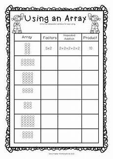 multiplication arrays worksheets grade 2 4847 arrays worksheets grade two math standard multiplication printables