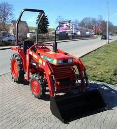 Traktor Gebraucht Ebay - kleintraktor allrad traktor kubota l1 18dt frontlader neu