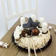 adventskr 228 nze dekoratives f 252 r weihnachten aus filz