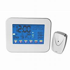 Temperature Humidity Touch Electronic Weather Clock by Aliexpress Buy Indoor Outdoor Digital Thermometer