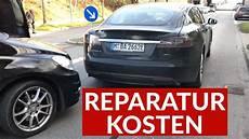 Was Kostet Ein Tesla - tesla model s reparaturkosten nach auffahrunfall
