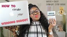 creating your wedding budget quick and easy guide tips