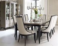 symphony platinum black tie extendable rectangular dining room from legacy classic 5640