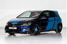 Ed Up Vw Golf Gti Decade Goes Hybrid For