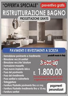 offerte bagni offerta ristrutturazione bagno 3 600 00 centro servizi