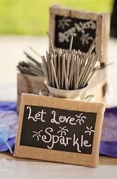 sparklers in 2019 country wedding decorations wedding