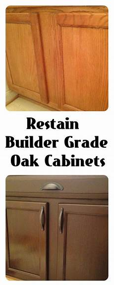 restain builder grade cabinets general finishes gel stain antique walnut and rustoleum s