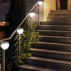 Led Beleuchtung Garten - 3er set led garten zaun beleuchtung au 223 enbereich
