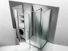 box doccia al posto della vasca il box doccia con lavatrice incorporata