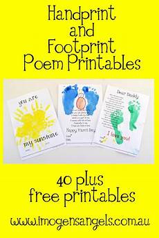 s day printable handprint poem 20557 handprint and footprint quotes quotesgram
