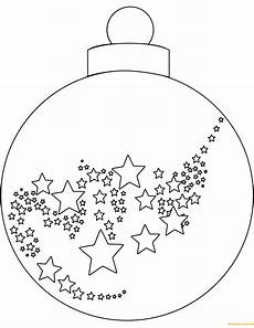 ornaments coloring page free coloring