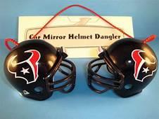HOUSTON TEXANS CAR MIRROR NFL FOOTBALL HELMET DANGLER
